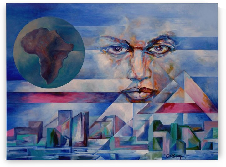 american_negro_print by Lloyd DeBerry