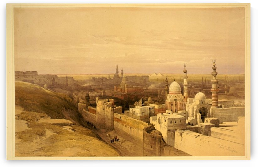 View of Old Cairo by David Roberts
