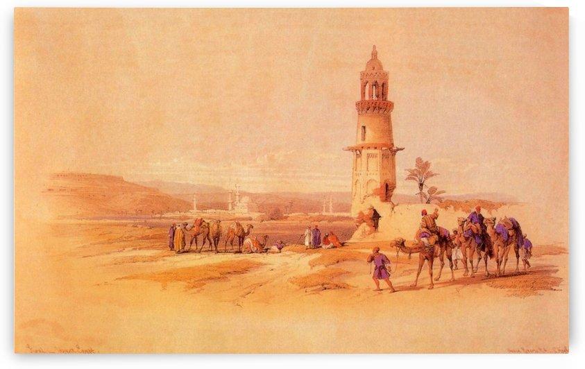 Siout, 1838 by David Roberts