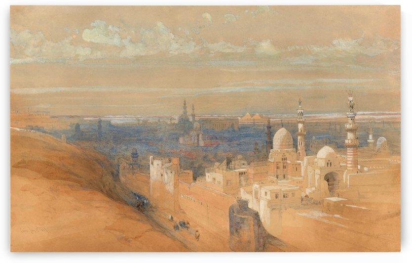 Cairo January 19th 1839 by David Roberts