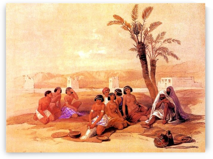 King Solomon and his wives by David Roberts