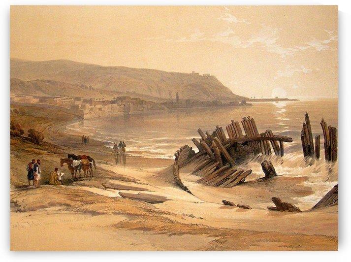 Mount Carmel-Israel by David Roberts