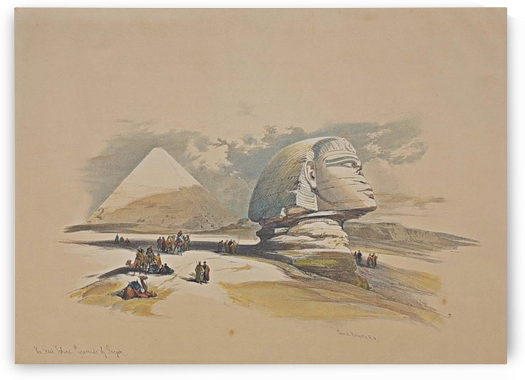 The Great Sphinx by David Roberts