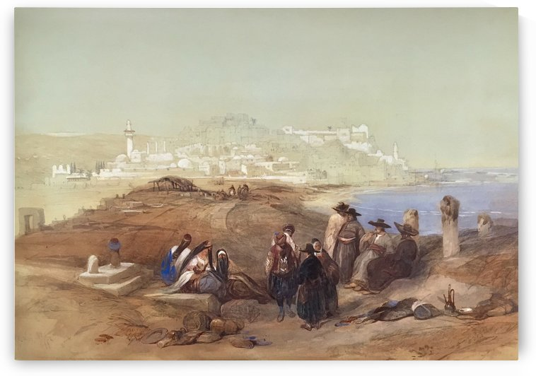 Jaffa, View from South by David Roberts