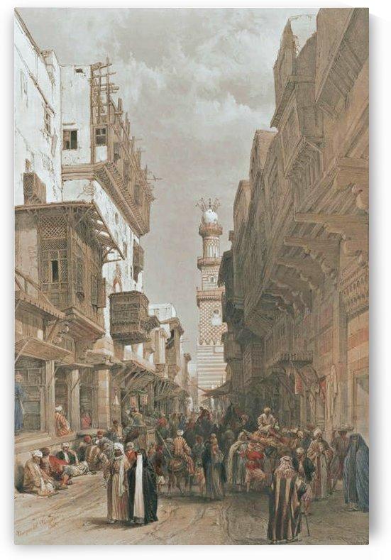 Mosque el Mooristan, Cairo by David Roberts