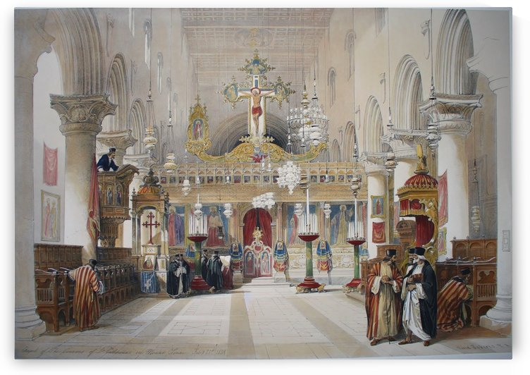 Chapel of the Convent of St Catherine by David Roberts