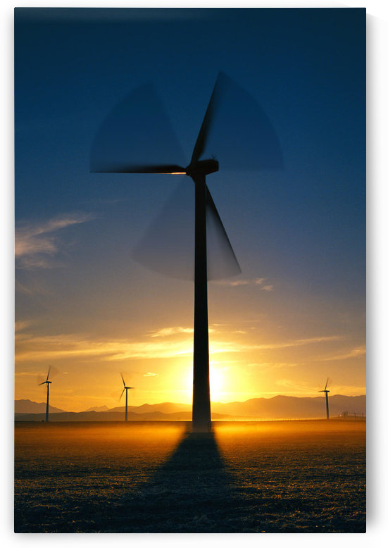Wind Turbines by PacificStock