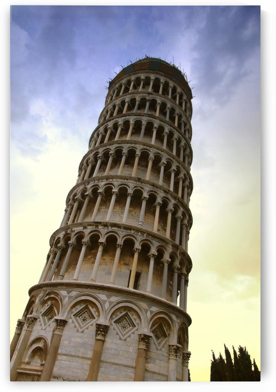 The Leaning Tower Of Pisa Tuscany Italy by PacificStock