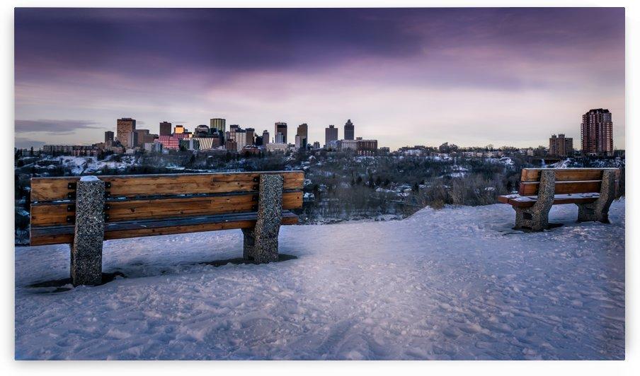 Edmonton on the Horizon by Lisa Poirier