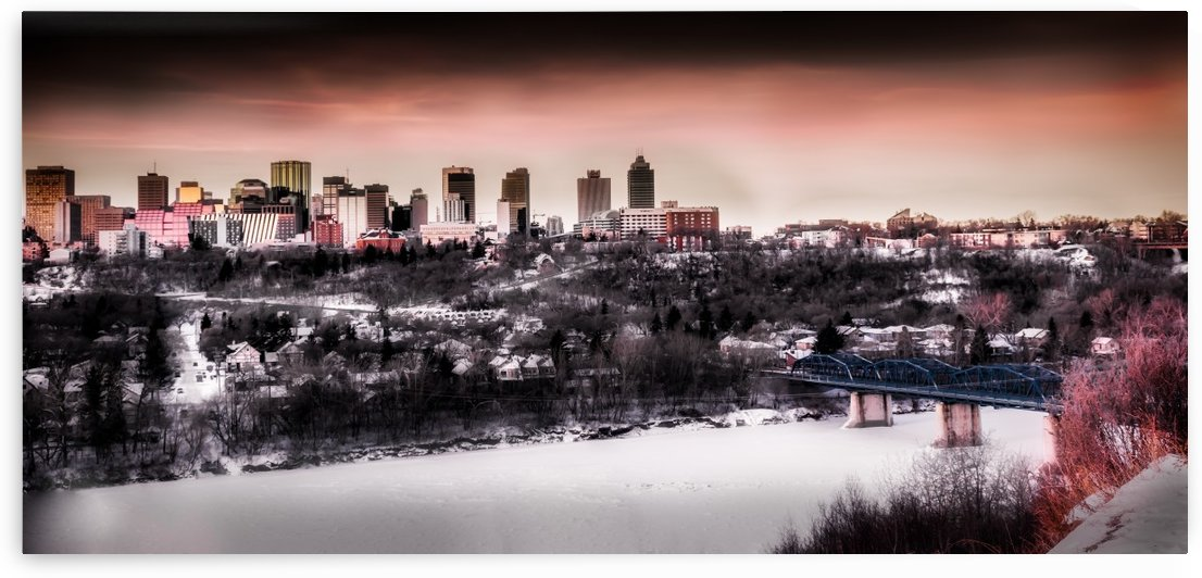 HDR view of Edmonton by Lisa Poirier