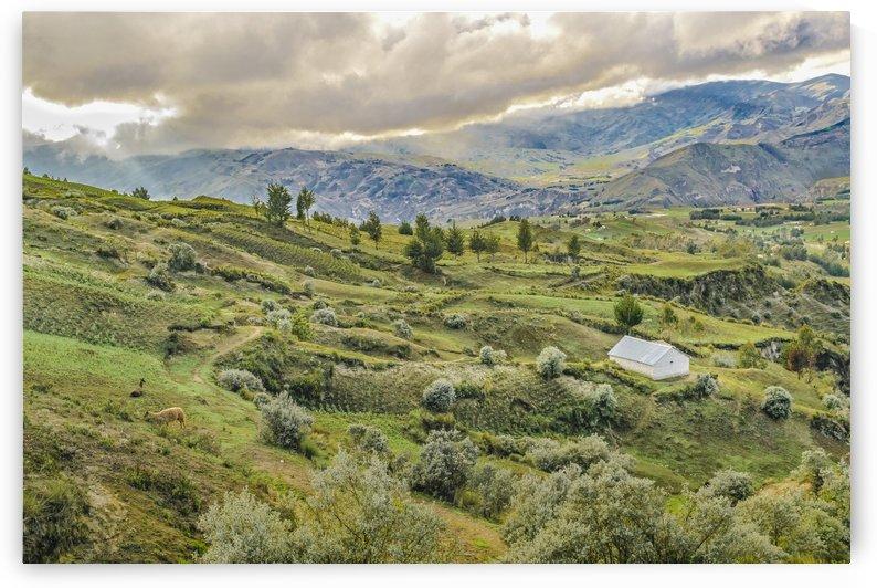 Andean Rural Scene Quilotoa, Ecuador by Daniel Ferreia Leites Ciccarino