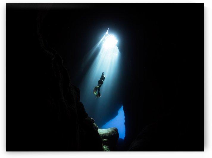 Dark cave by Cullen Kamisugi