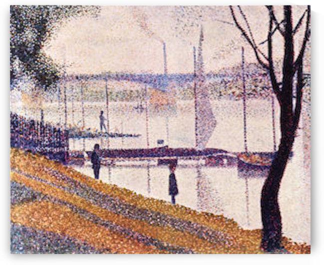 Bridge of Courbevoie by Seurat by Seurat