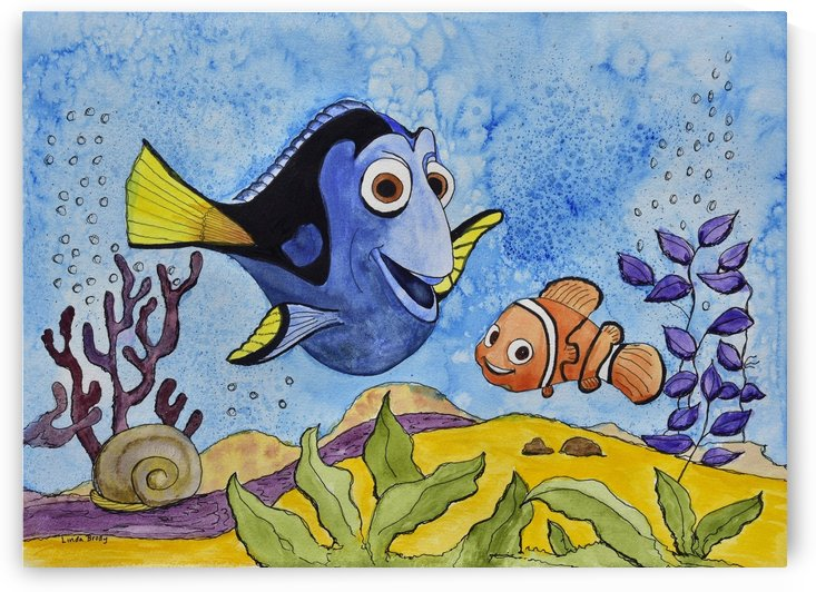 Nemo and Dori by Linda Brody