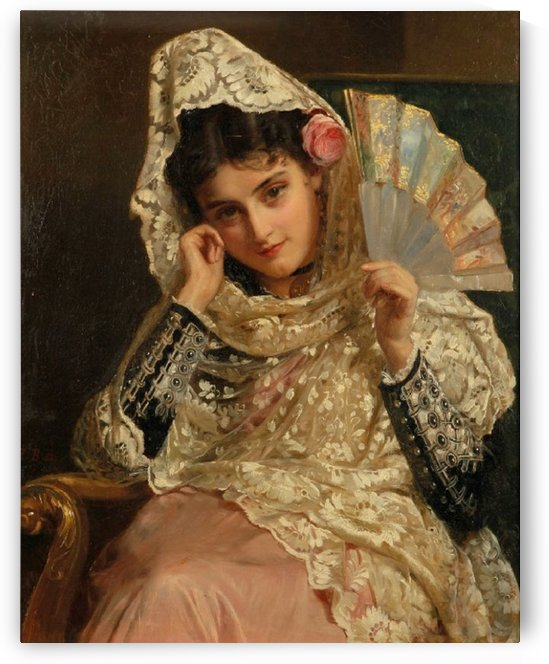 Feliciana - A Spanish beauty by John Bagnold Burgess