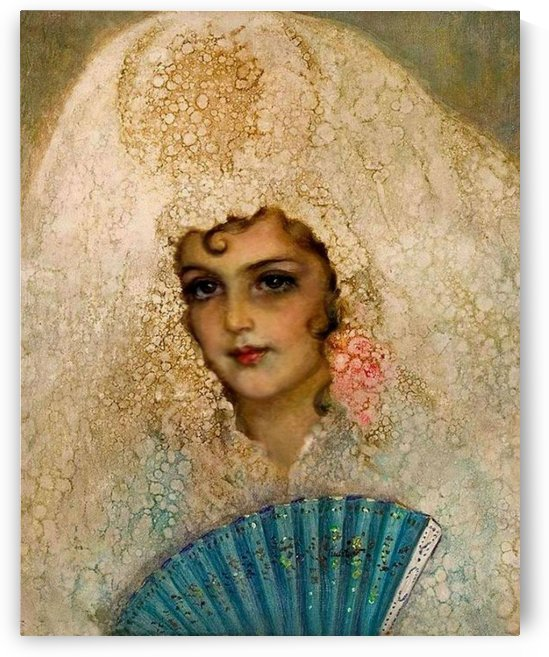 Spanish beauty by John Bagnold Burgess