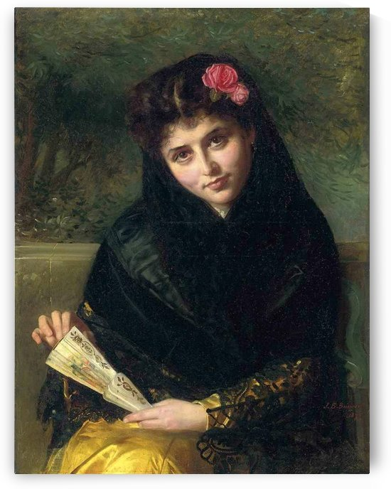 A Spanish beauty by John Bagnold Burgess