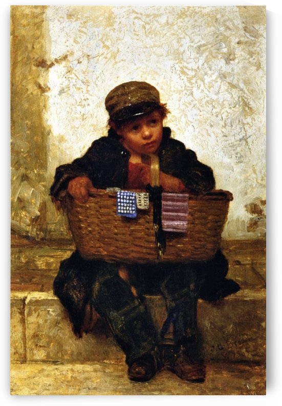 The Button Seller by John Bagnold Burgess