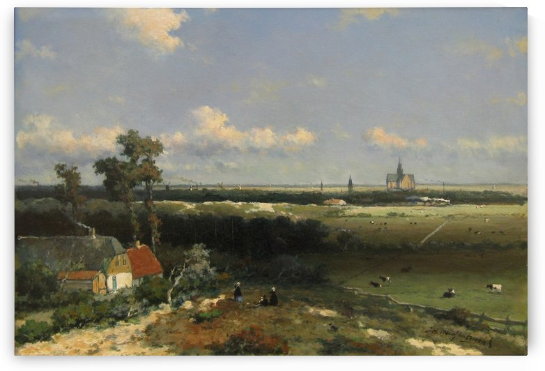 Kennemerland by Jan Hendrik Weissenbruch