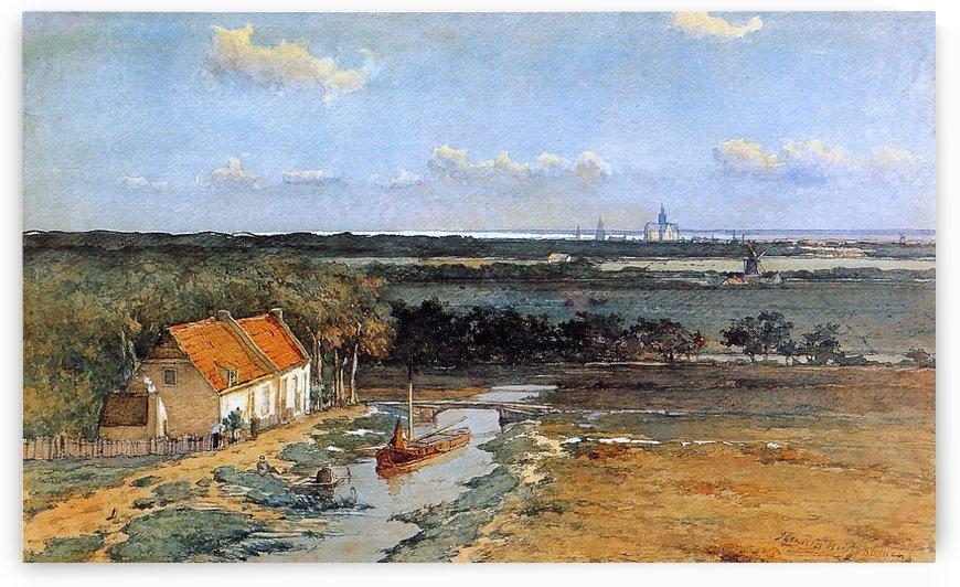 Kennemer land by Jan Hendrik Weissenbruch