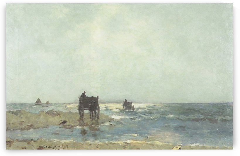 Beach at Scheveningue by Jan Hendrik Weissenbruch