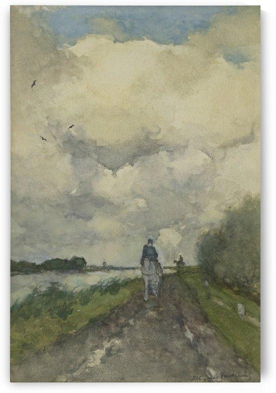 Noorden landschap by Jan Hendrik Weissenbruch