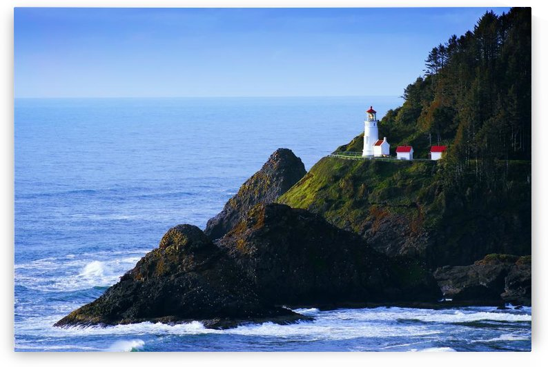 Heceta Head Lighthouse, Oregon, Usa by PacificStock