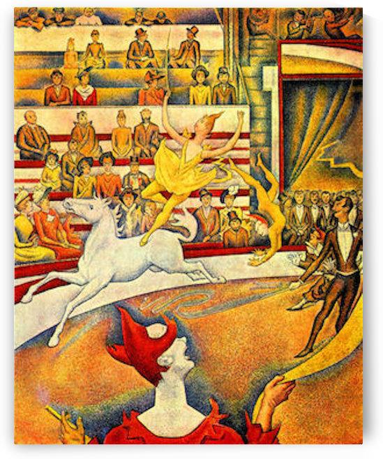 Circus by Seurat by Seurat