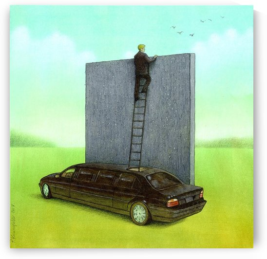 personal wall by Pawel Kuczynski