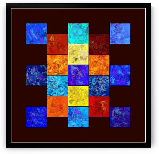 Ecleptios - colourful world by Cersatti Art
