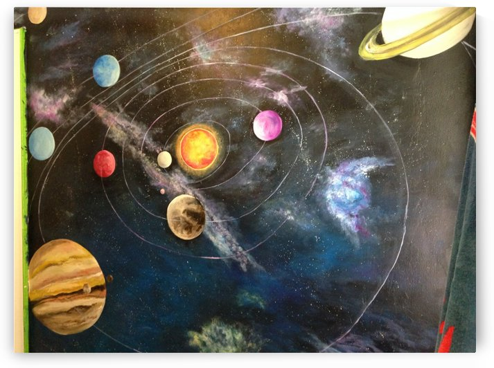 Solar System/ Outer Space  by Jenn Hollis