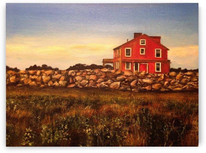 Little Red House by Jenn Hollis