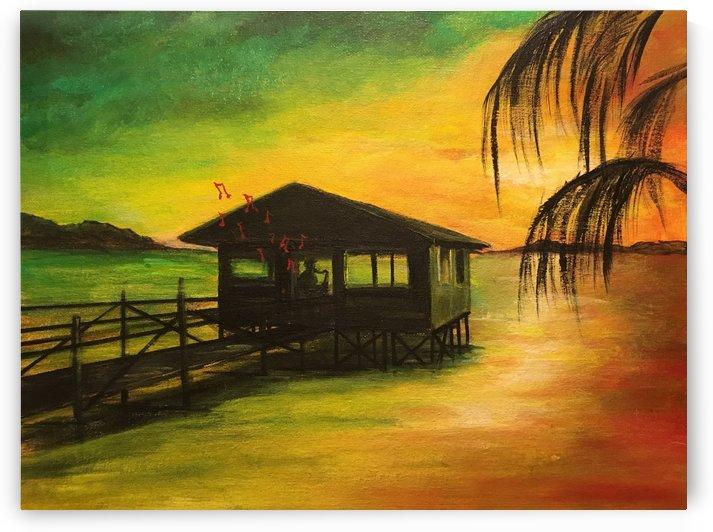 Jamaican Sunset by Jenn Hollis