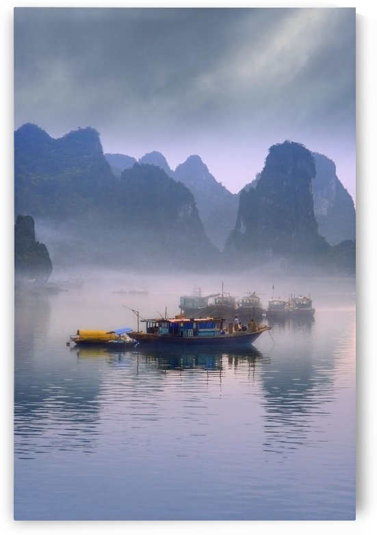 Junks On Halong Bay by PacificStock