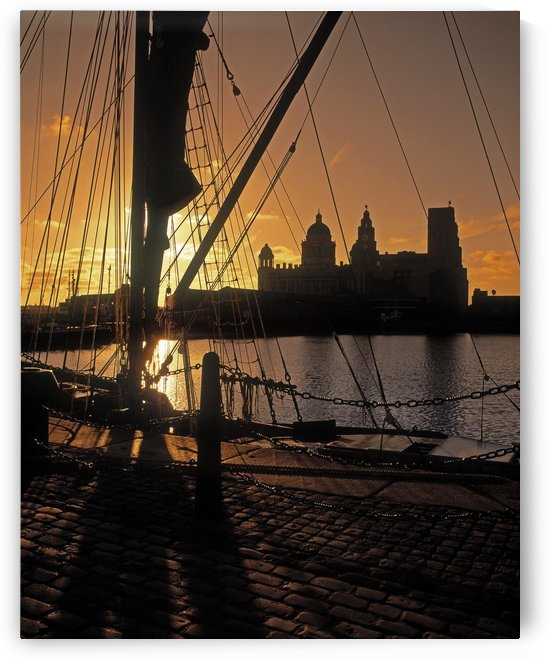 Liverpool, England; View From Albert Dock by PacificStock