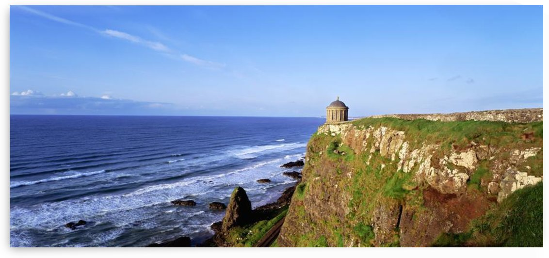 Mussenden Temple, Portstewart, Co. Londonderry, Ireland by PacificStock