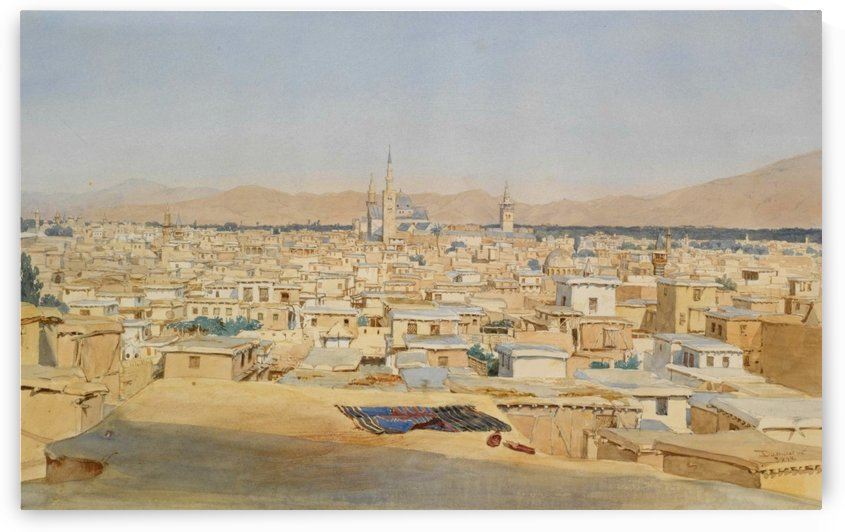 View of Damascus by Max Schmidt