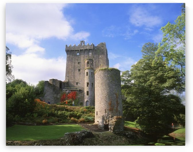 Blarney Castle, Co Cork, Ireland; Medieval Stronghold In Blarney by PacificStock
