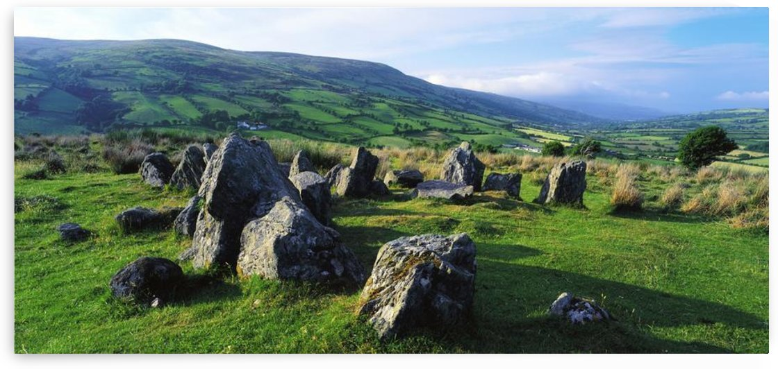 Ossian's Grave, Co Antrim, Ireland; Stone Age Site And Believed To Be The Gravesite Of Oisín (Ossian) The Warrior Poet Of Ireland by PacificStock
