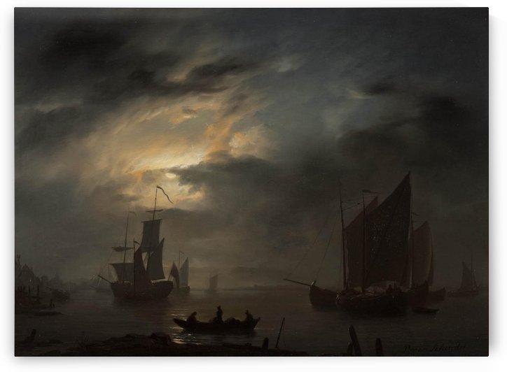 Nocturnal Marine by Petrus van Schendel
