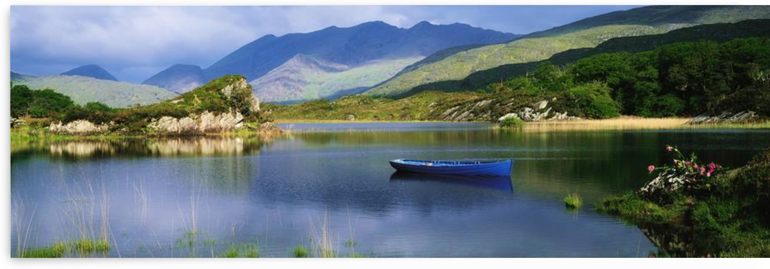 Upper Lake, Killarney, Co Kerry, Ireland; Boats On A Lake by PacificStock