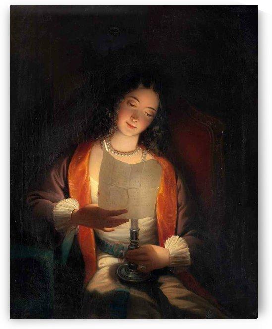 The love letter by Petrus van Schendel