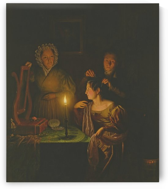 Before the ball by Petrus van Schendel