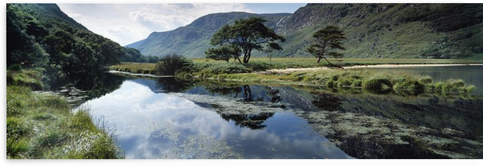 Owenveagh River, Glenveagh National Park, Co Donegal, Ireland; Reflections On A Lake by PacificStock