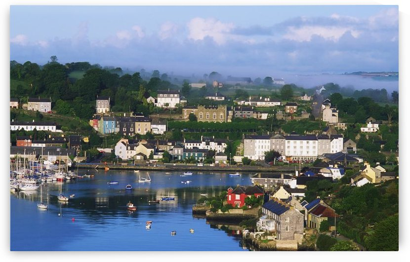 Kinsale, Co Cork, Ireland; View Of Boats In Harbor by PacificStock