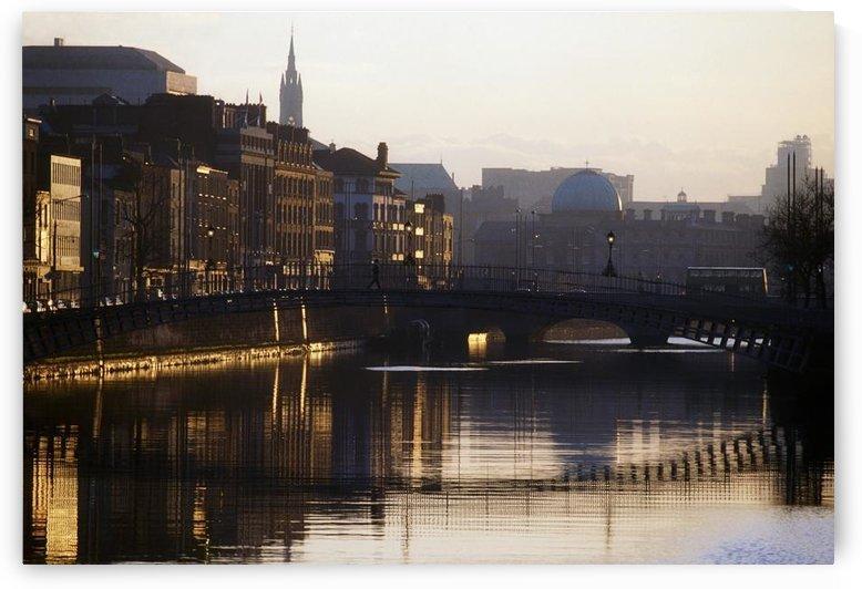 River Liffey, Dublin, Co Dublin, Ireland by PacificStock