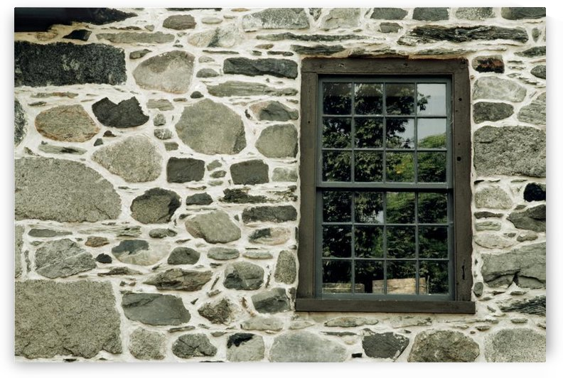 Stone Wall With A Window by PacificStock