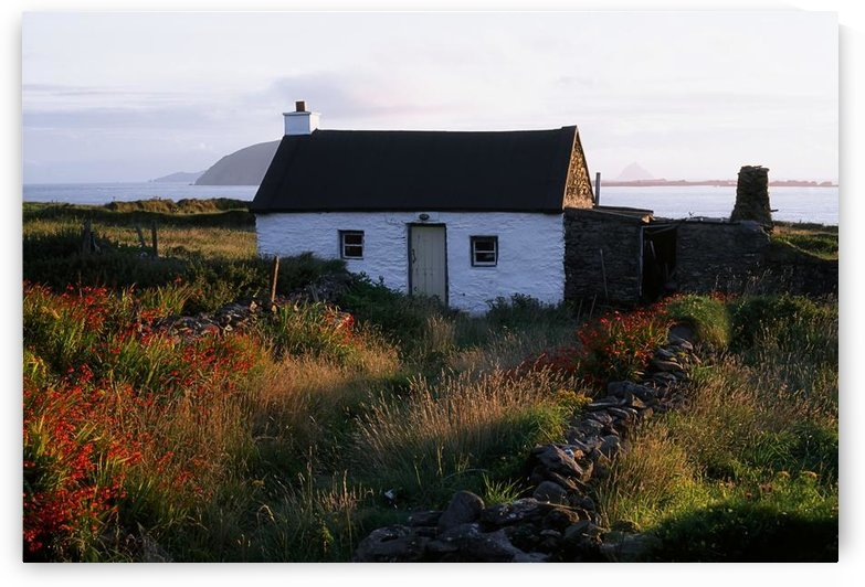 Cottage, Near Dunquin, Dingle Peninsula, Co Kerry, Ireland by PacificStock