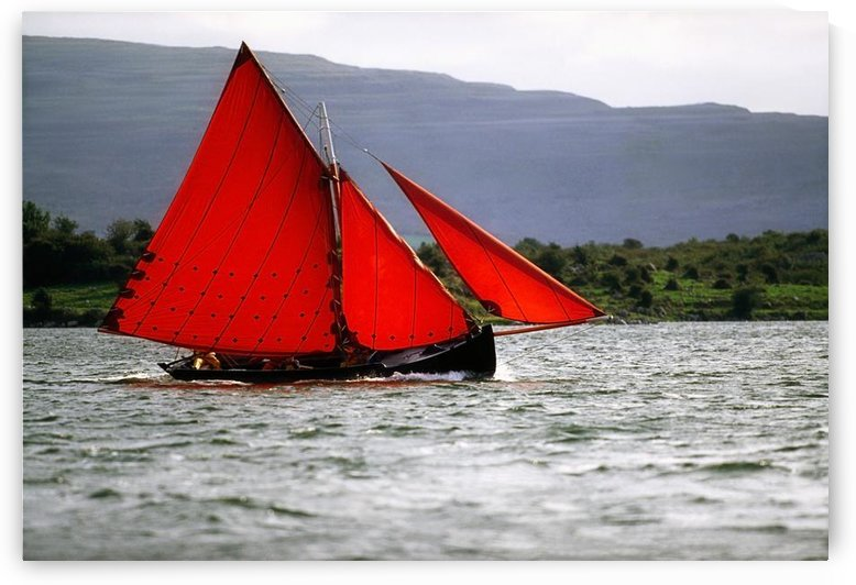 Galway Hookers, Kinvara, Co Galway, Ireland by PacificStock