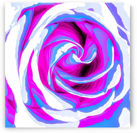 pink and blue closeup rose texture background by TimmyLA